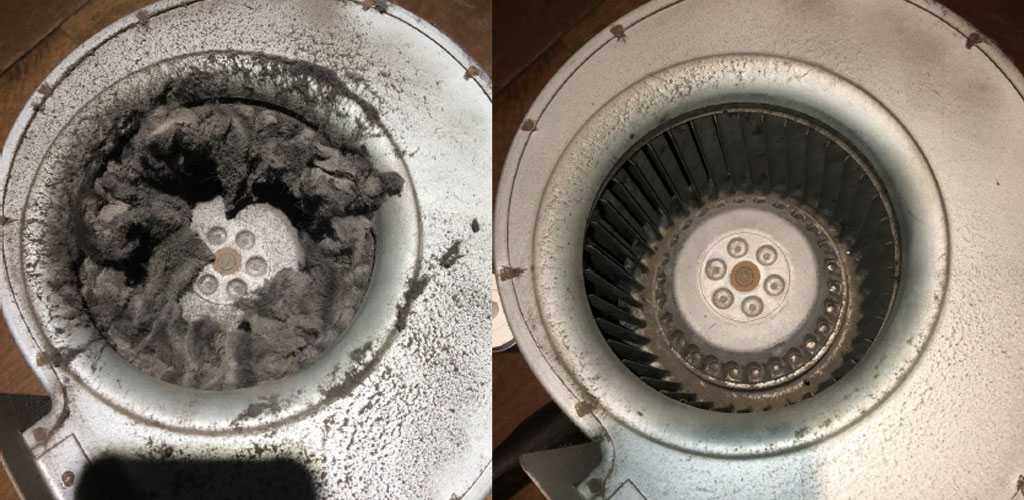Over Door Heater Cleaning