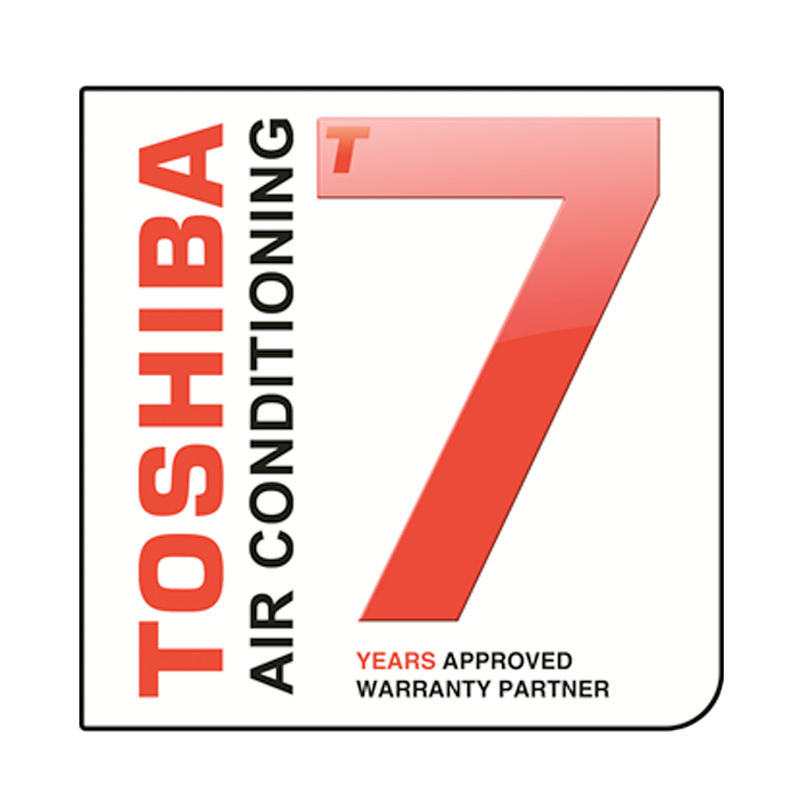 Toshiba Seven Years Warranty Logo